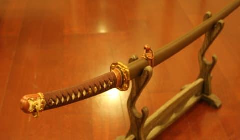 最高級軍刀拵の日本刀がかっこいい