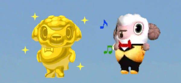 金ピカひつじのしつじくんとゴールドタキシードな1000万人ありがとうひつじのしつじくん