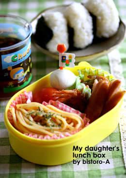 娘のお昼ご飯♪