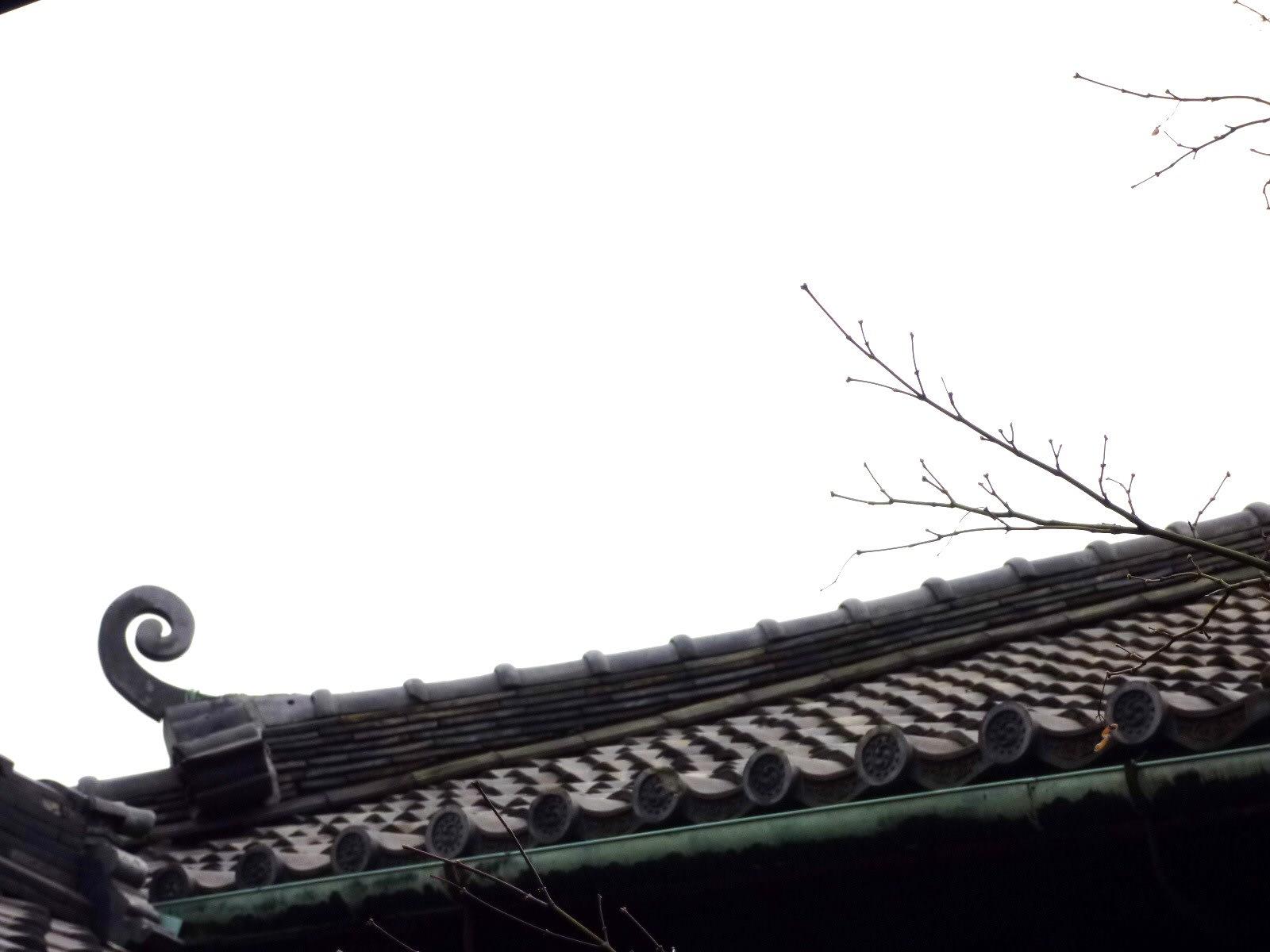 貞照院の屋根の画像