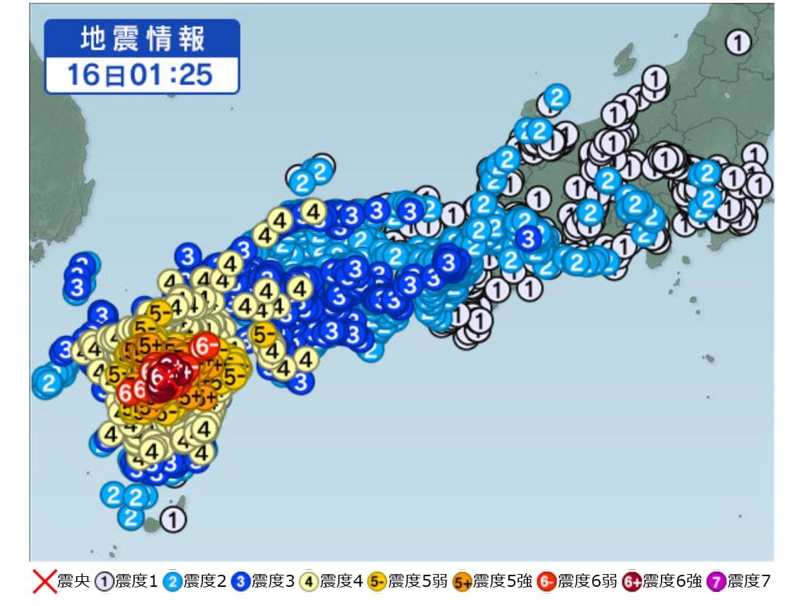 熊本 地震 震度 災害を振り返り支援しよう!熊本地震の震度や震源地、被害の大きさは...
