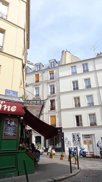 パリ、その6 パリのストリート・...