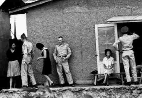 韓国人の米軍慰安婦