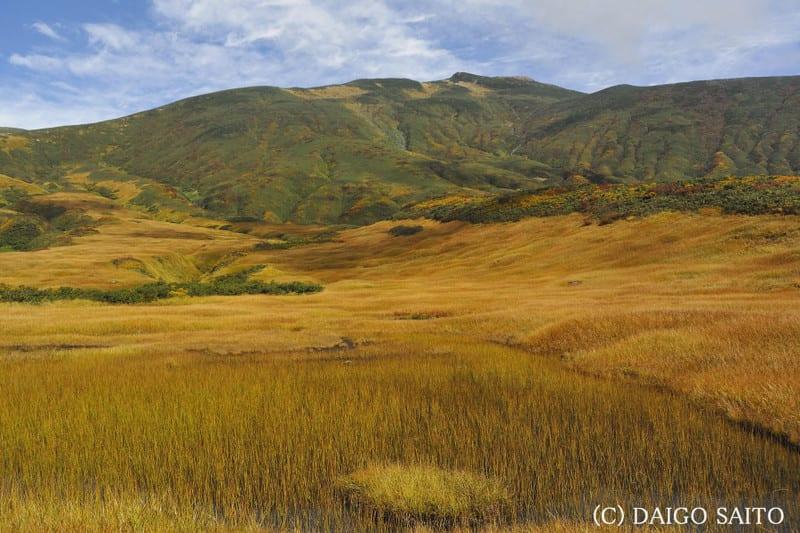 秋色の千畳ヶ原
