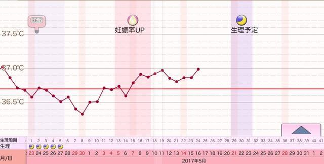 目 妊娠 期 した 9 時 高温 日
