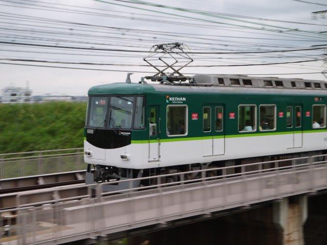 京阪6000系急行淀行き