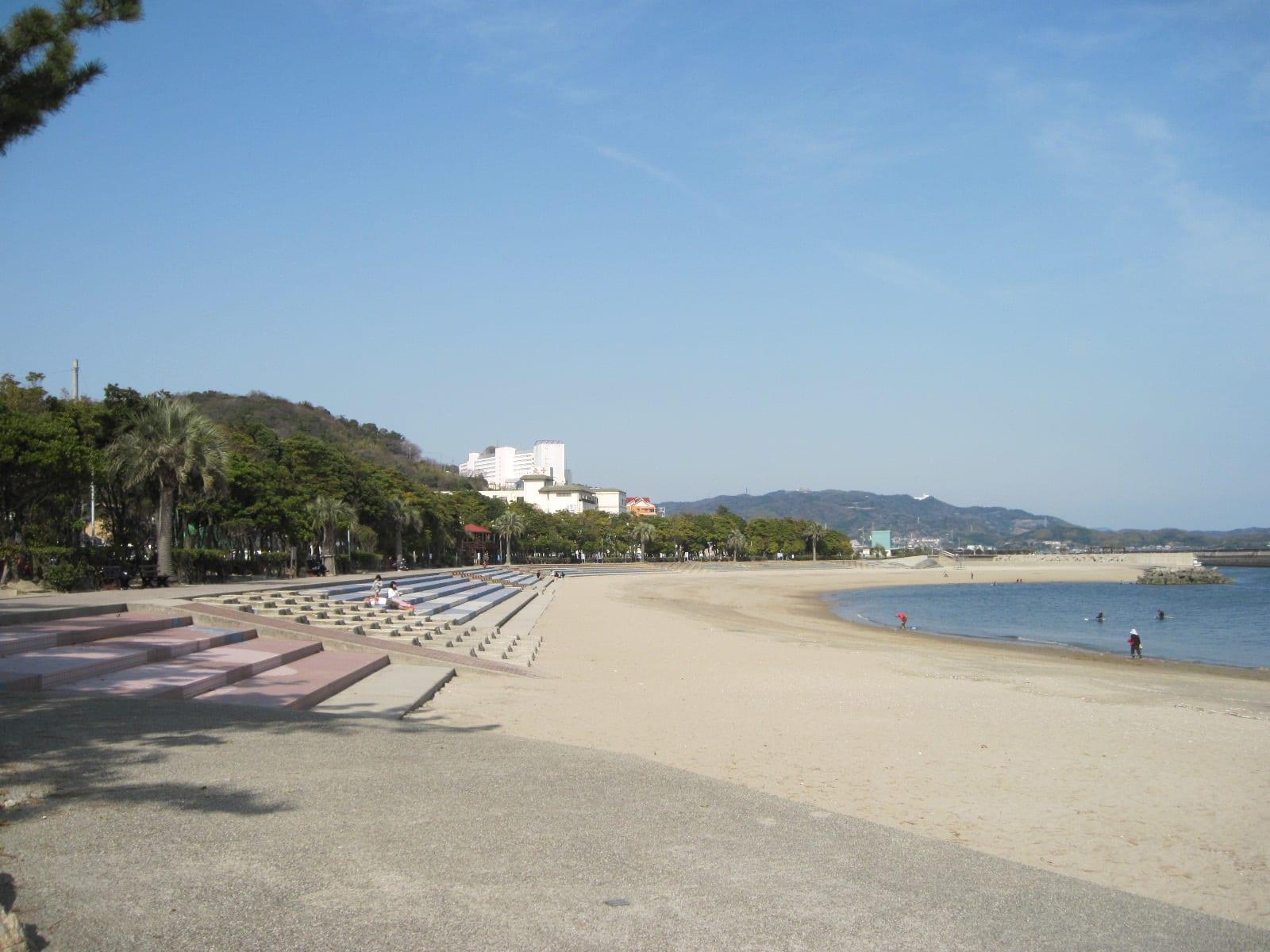 長距離散歩・吉良宮崎海岸付近の画像