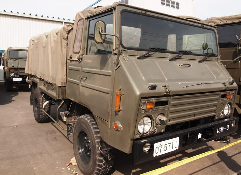 73式中型トラック( 1/2tトラック) - 観光列車から! 日々利用の乗り物まで