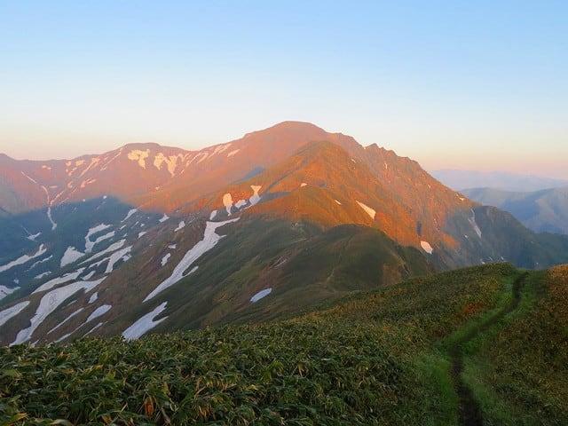 谷川連峰 主稜線縦走 ⑴ - あの山この山越の里