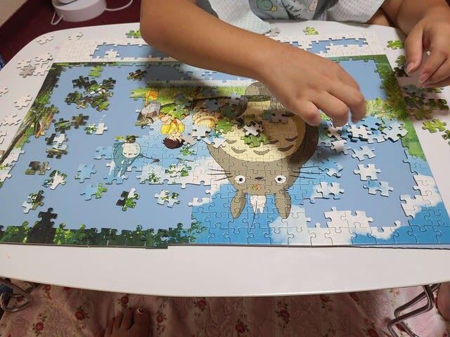 ジグソーパズルの写真です。 | 高知市で月々三万円で新築一戸建てを建てるならサンブランドハウス