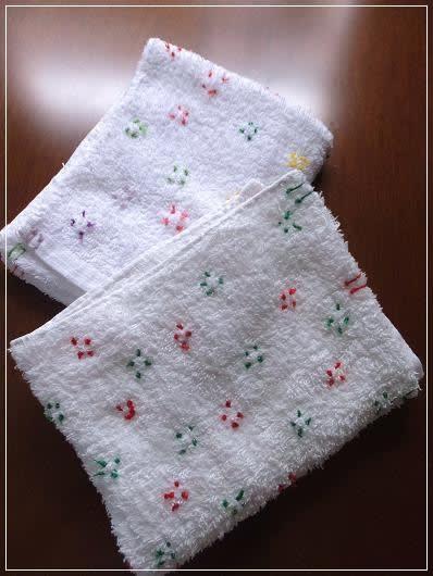 たかが雑巾? かわいい雑巾 - 私...