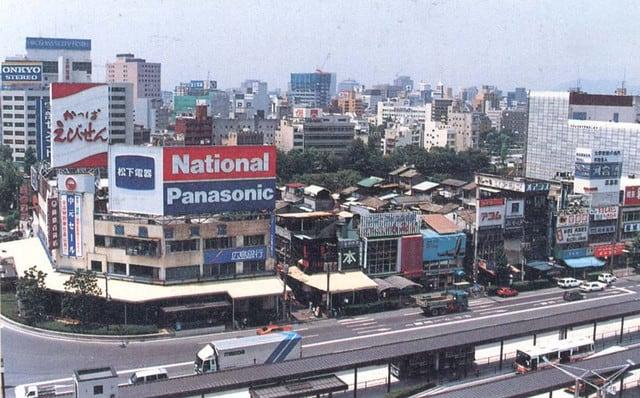 1989年当時の広島駅南口 - ふる...