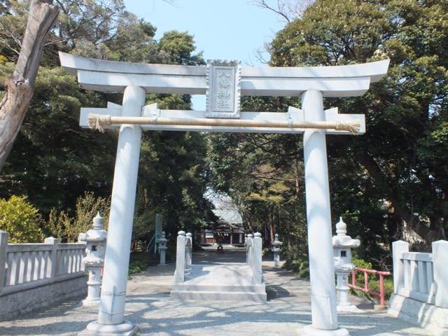 清水町の八幡神社