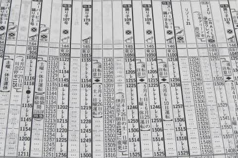JTB時刻表とは | 鉄道時刻表ニュース ダイヤ改正・ …