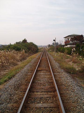 続く よ どこまでも 線路 は
