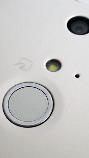 ARROWS NXの指紋認証センサ