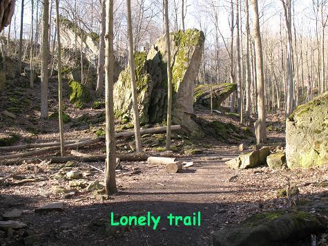 のどかな路、孤独な路