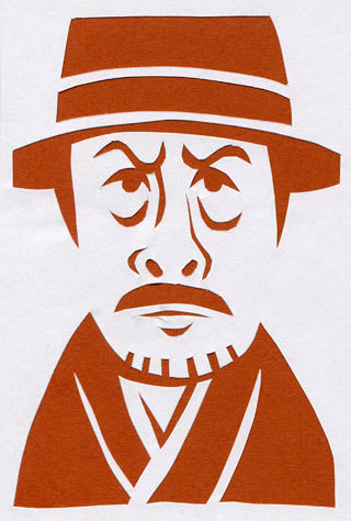 吉田鋼太郎の似顔絵