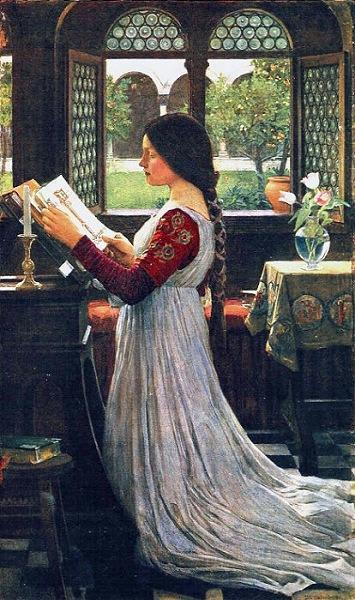 John_william_waterhouse__the_missal