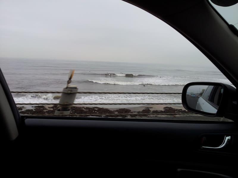今日は波あり!