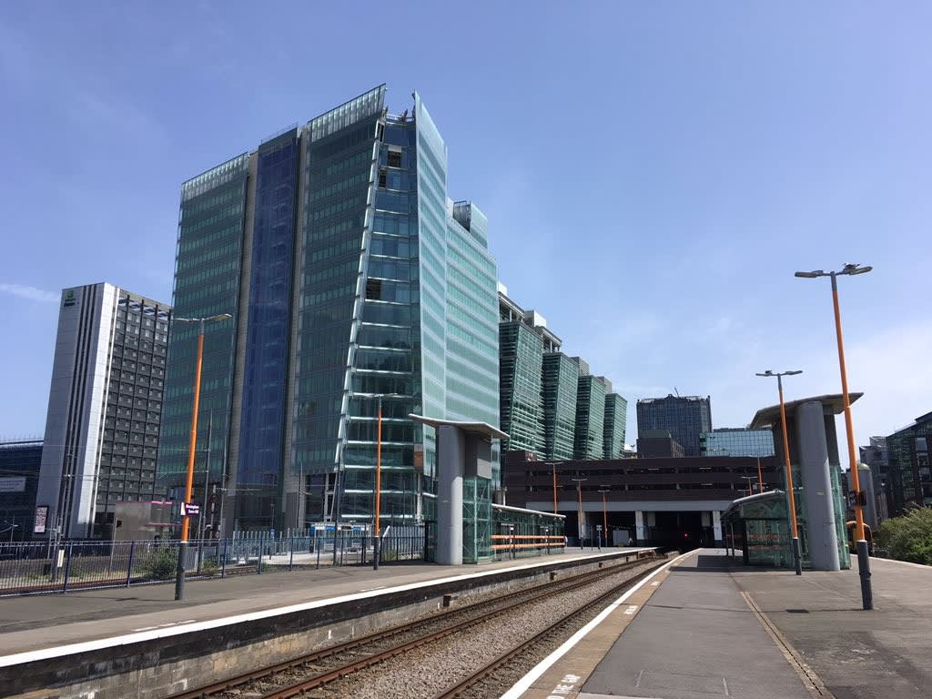 Birmingham Snow Hill station ...