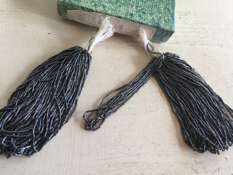 vintagebeads3 五厘竹ビーズ 丸管 鉄