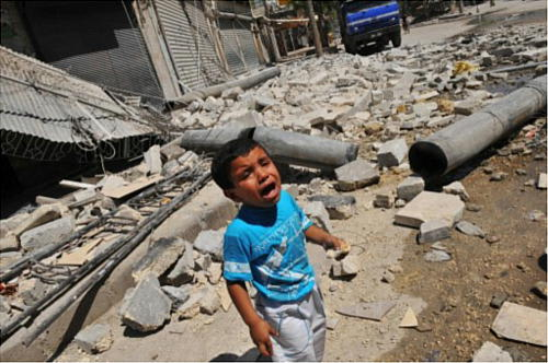 シリア内戦で犠牲になっている子供達 - 美術館巡りと古都散策、Jazz ...