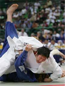 第24回世界柔道選手権大会/4日...