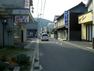 広島県道390号(ポッポ屋付近)