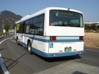 バス)02-162 淡路交通エアロ2扉...