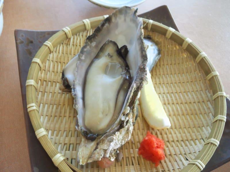 夏期の牡蠣!