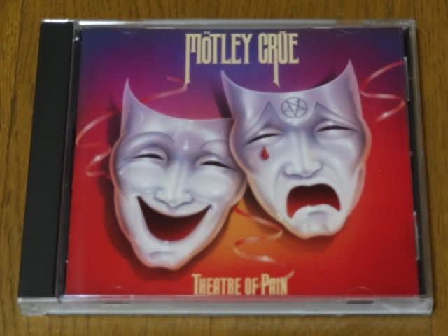 motley crue theatre of pain 今日のBGM 初期型日産リーフに
