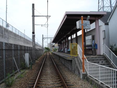 阪神 洲先駅 - 一日一駅