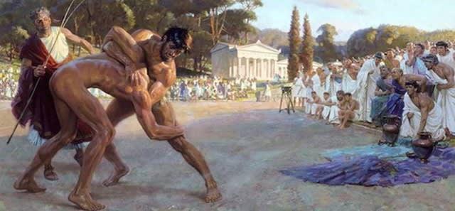古代オリンピック 肉体と精神の...