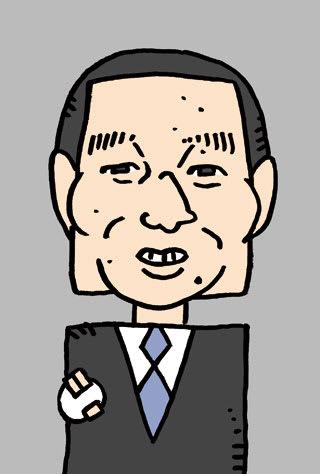 桑田真澄の似顔絵