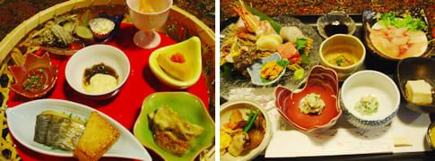 前菜と刺身