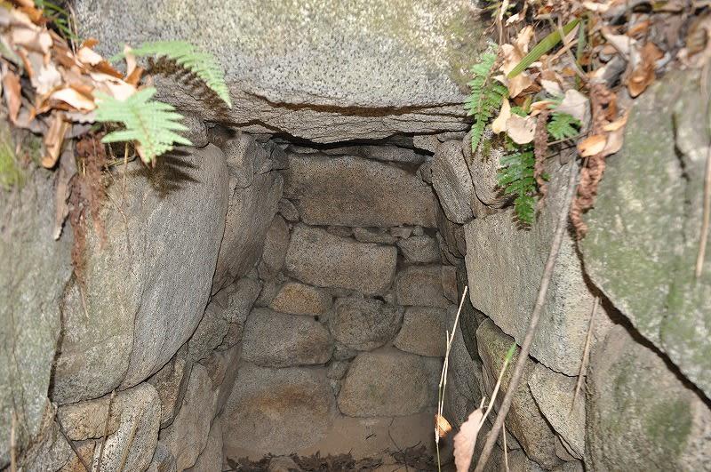 造り出し部分の石室