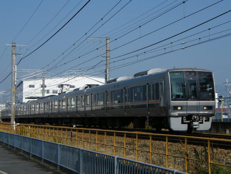 207系東西線直通「快速」木津行き
