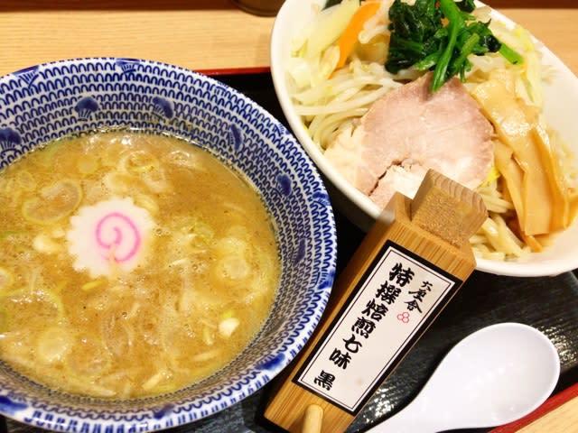 新横浜駅のぐるめストリートにある舎鈴へ、野菜つけ麺の中盛り500グラムを食べにGo‼️