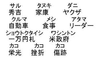 の 読み方 漢字 難しい