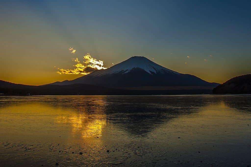 富士山(山中湖)の写真