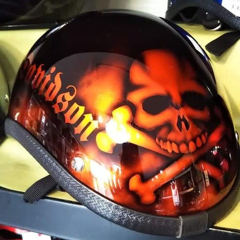 イジーオーダーいただいたヘルメットたち(^^♪ ㉚