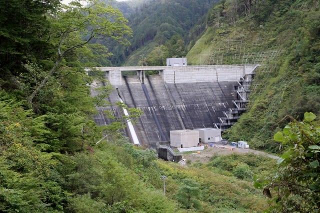 上ノ国ダム - ダムの訪問記