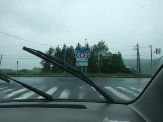 雨ドライブ