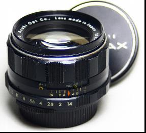 第383沼】PENTAX super-Takumar 50mm F1 4 (前期型) 正真正銘の8