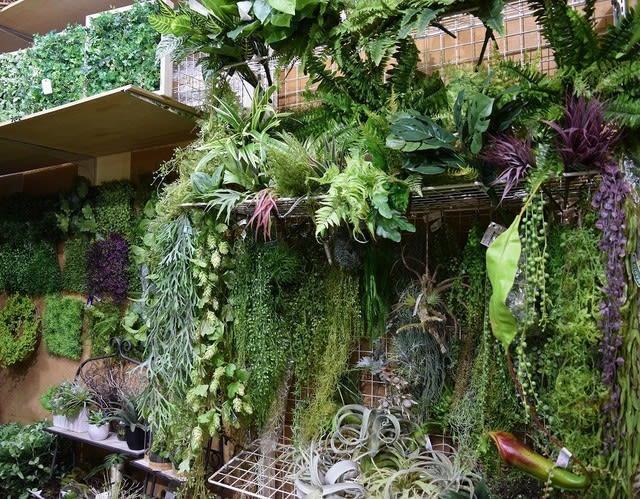 造花ココーフラワー横浜 フェイクグリーン ハンギング・壁飾り フレーム