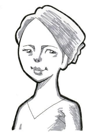 ソニン似顔絵イラストレーション画像