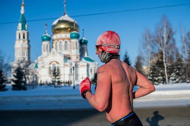 酷寒ランニング~ロシアの冬~ -...