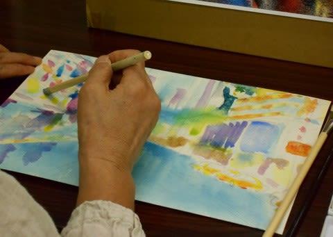 センスを磨く 12の描き方 透明水彩+アクリルガッシュ ~ハイ