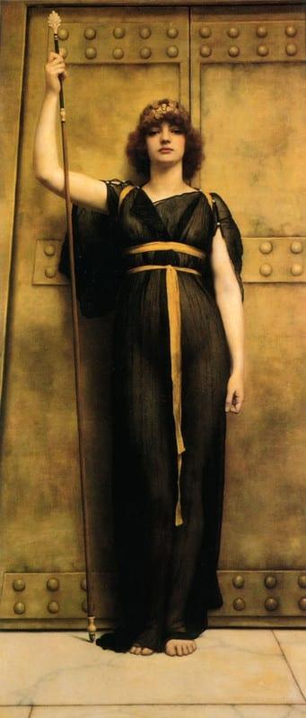 知性の女神(着衣像)